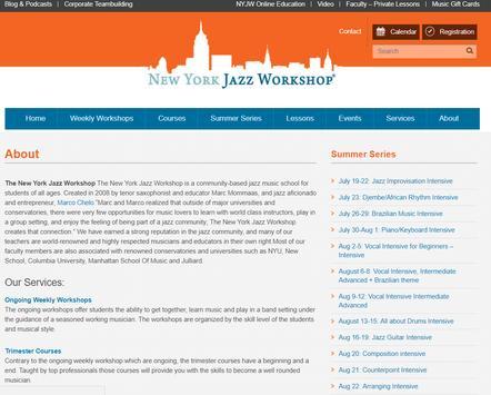 New York Jazz Workshop screenshot 4