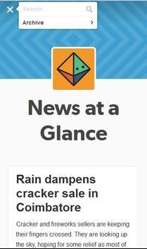 News at a Glance screenshot 4