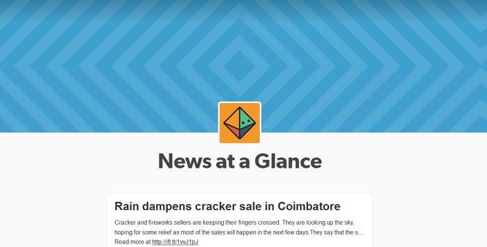 News at a Glance screenshot 6