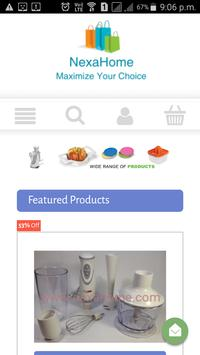 Nexahome: Online supermarket for household product apk screenshot