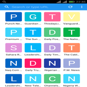 Nigeria News Browser icon