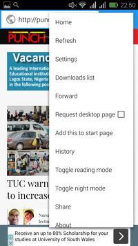 Nigeria News Browser apk screenshot