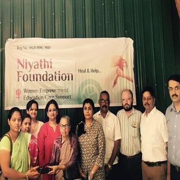 Niyathi Foundation screenshot 1