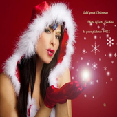 Christmas photo effects icon