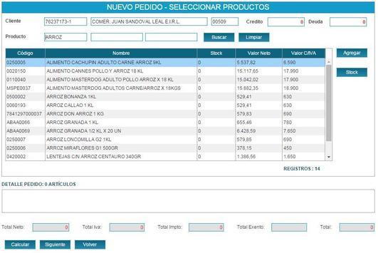 Gestpyme Notas Venta apk screenshot