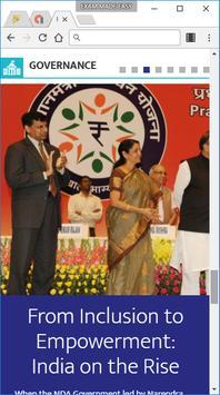 Narendra Modi app screenshot 2