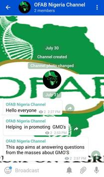 OFAB Messenger poster