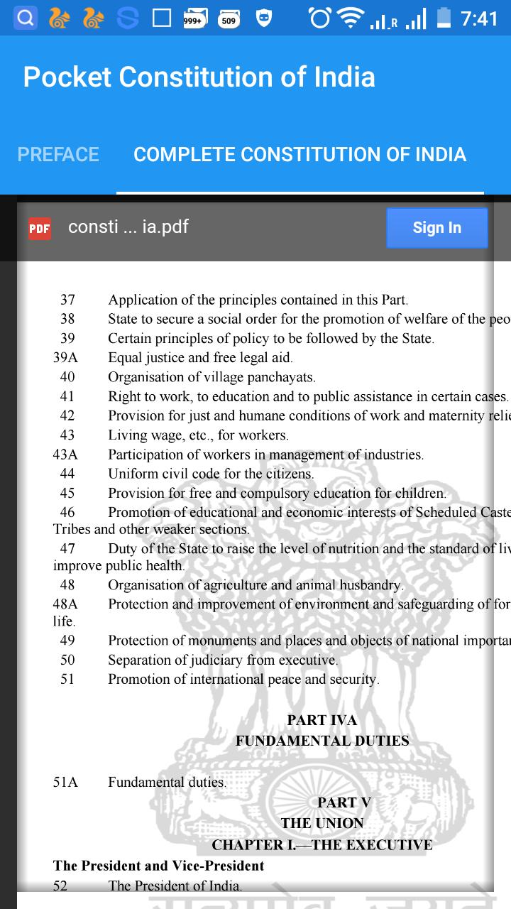 Pocket Constitution of India for Android - APK Download