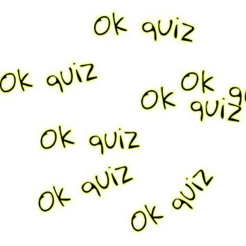 Ok quiz poster