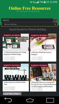 Online Free Resources screenshot 1