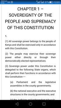 kenya constitution 2010 online apk screenshot