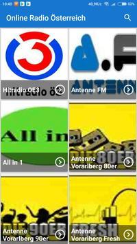 Radio online Österreich poster