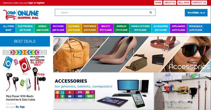 Online Shopping Mall apk screenshot