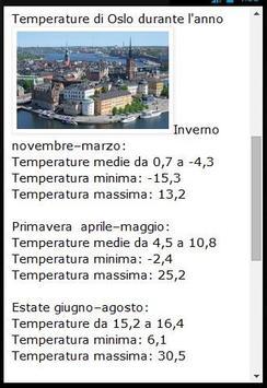 Oslo Guida Turistica screenshot 4