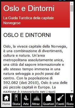 Oslo Guida Turistica poster