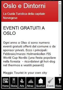 Oslo Guida Turistica screenshot 2