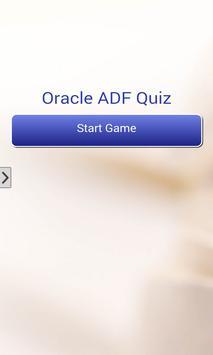 Oracle ADF Quiz poster