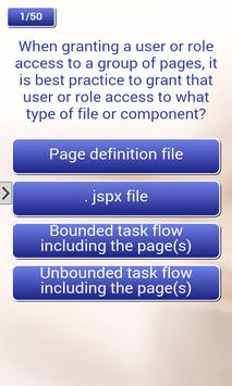 Oracle ADF Quiz apk screenshot