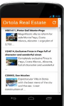 Ortola Real Estate Listing poster