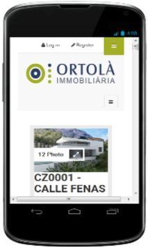 Ortola Real Estate Listing apk screenshot
