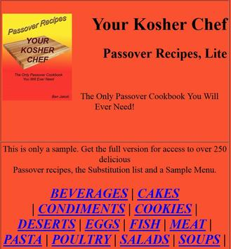 Over 250 Passover Recipes, Lte apk screenshot