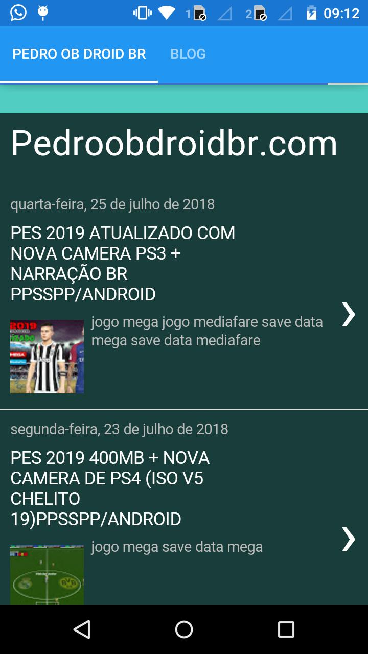 BLOG PEDRO OB DROID for Android - APK Download