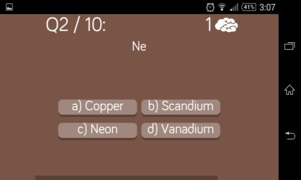 Periodic table quiz apk download free trivia game for android periodic table quiz poster periodic table quiz apk screenshot urtaz Gallery