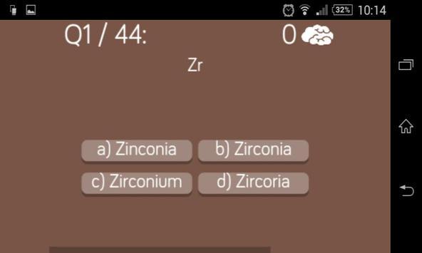 Periodic table quiz apk download free trivia game for android periodic table quiz apk screenshot urtaz Images
