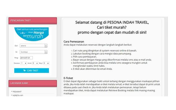 PESONA INDAH TOUR screenshot 1
