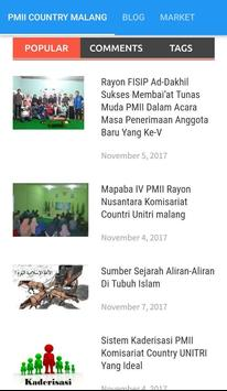 PMII Country Unitri Malang apk screenshot
