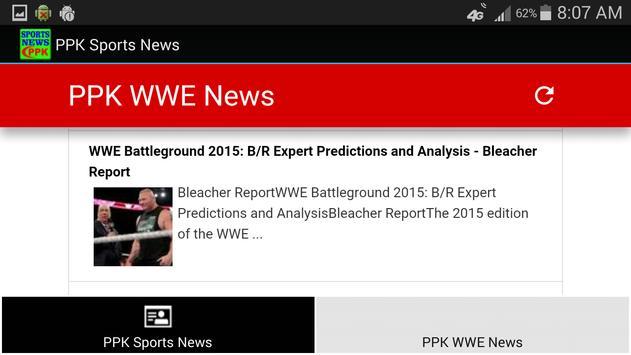 PPK Sports News apk screenshot
