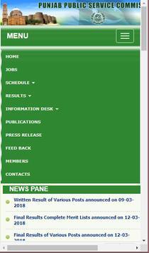 PPSC Punjab Public Service Commission poster
