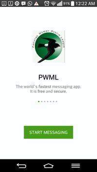 PWML MESSENGER poster