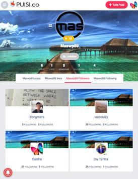 PUISI.CO - Komunitas Puisi Indonesia apk screenshot