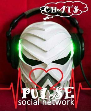 PULSE социальная сеть poster