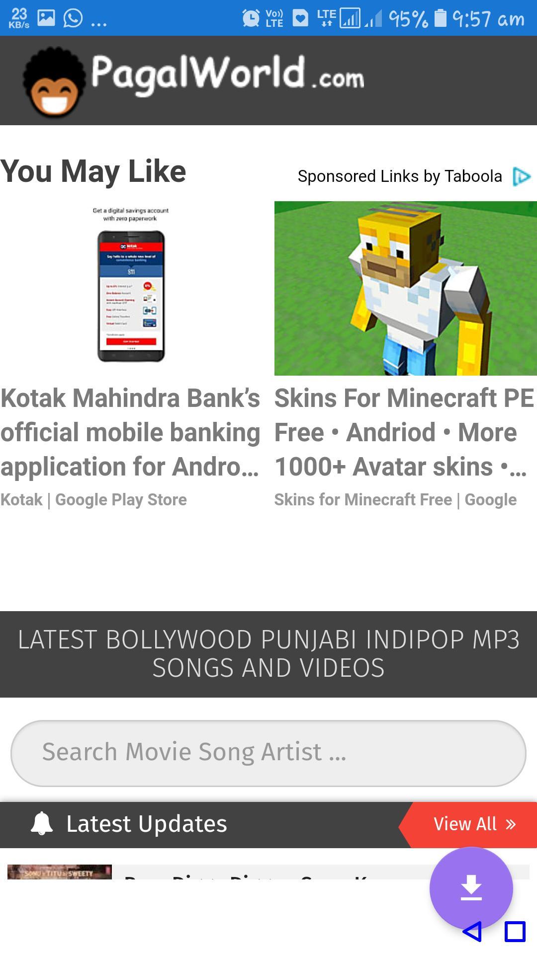 songs download mp3 hindi free pagalworld