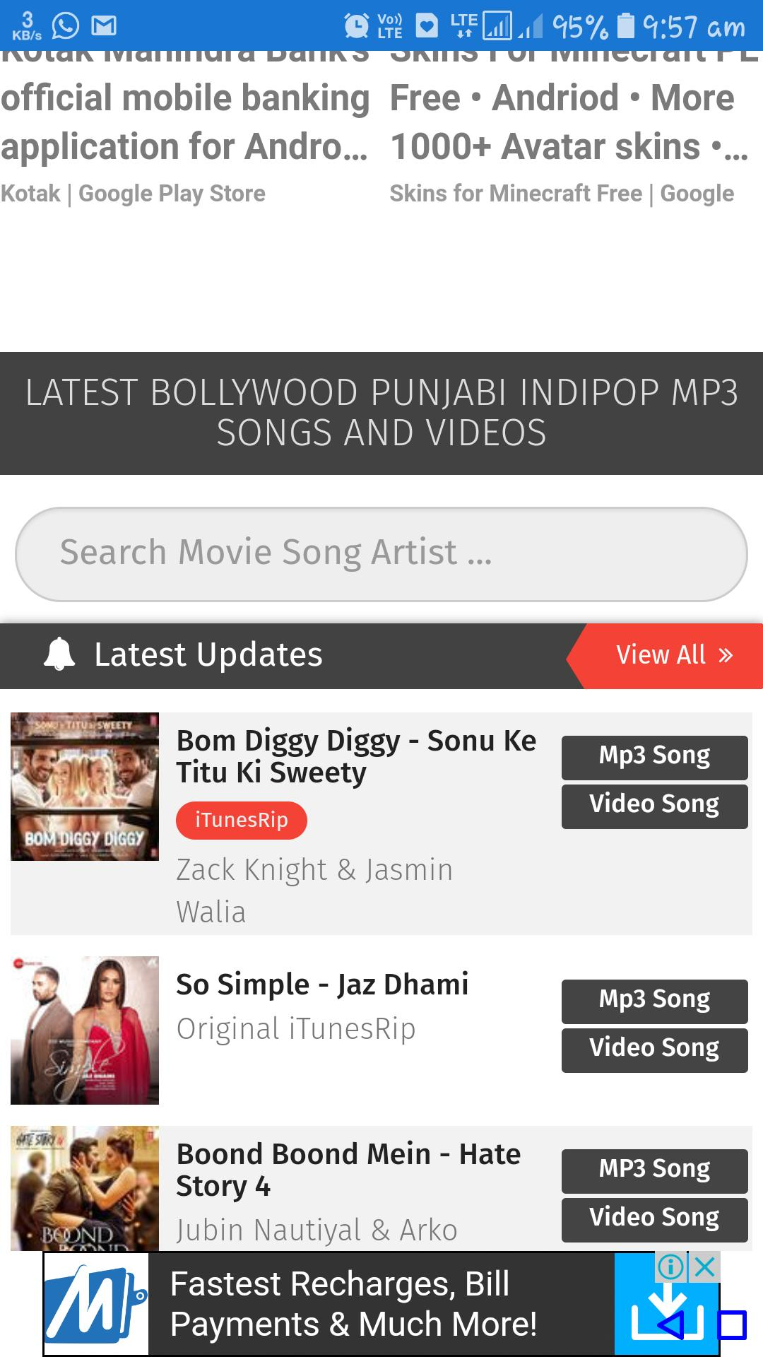 Pagalworld All Hindi Songs For Android Apk Download