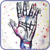 Palmistry - divination by hand icon