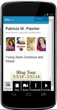 Patricia W. Fischer, Author poster