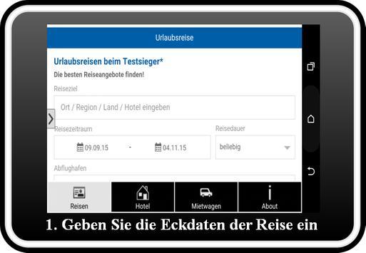 Urlaub Reisen Vergleich 2018 apk screenshot