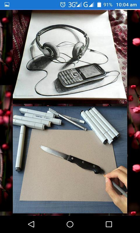 pencilsketch poster