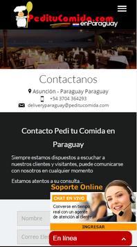 PedituComida enParaguay poster