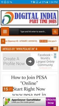 FULL / PART TIME JOBS [www.pesa.net.in/986373] apk screenshot