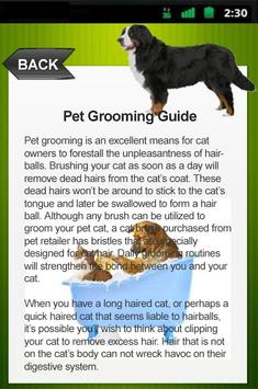 Pet Grooming Guide screenshot 4
