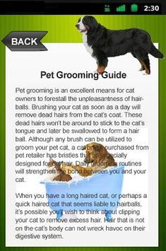 Pet Grooming Guide screenshot 2