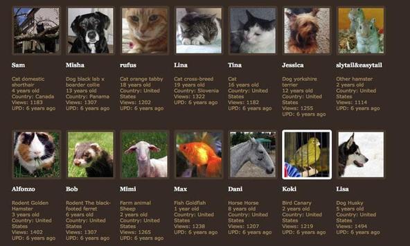 PetGraveBook screenshot 2