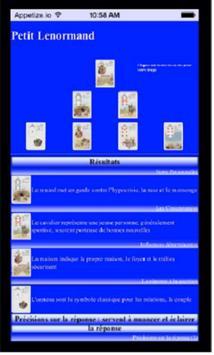 Portatout - Petit Lenormand 1 apk screenshot