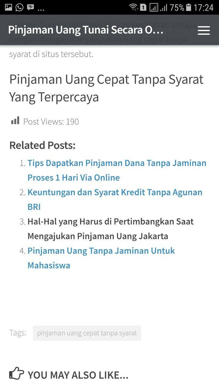 Pinjaman Cepat Aplikasi Pinjaman Uang For Android Apk Download