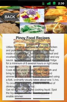 Pinoy food recipes descarga apk gratis personalizacin aplicacin pinoy food recipes captura de pantalla de la apk forumfinder Gallery