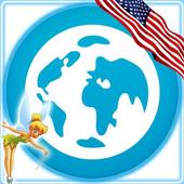 Pixie Browser: USA icon